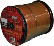 Audiopipe 18Ga Spekaer & Remote Wire 500' Ft Orange