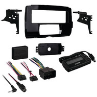 Metra 99-9700 2014-Up Harley Davidson Motorcycle Dash Installation Kit
