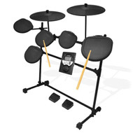 New Pyle PED021M Digital Drum Set, Electronic Drum Machine System (7-Pad Drum Kit)