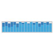 """Pipedream Car Music Rhythm Lamp 27-5/8""""W X 6-3/8""""H"""