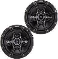 """Kicker DSC674 6.75"""" Inch 120 Watt RMS 2-Way Black Car Audio Stereo Coaxial Speaker - Pair"""