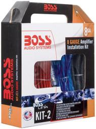 Boss Complete 8 Gauge Amplifier Installation Kit