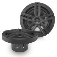 Enrock Marine Pair 2-Way 180-Watts High-Performance 6.5 Water-Resistant Loudspeaker (Black)