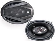 """Dual DLS694 6X9"""" Inch 4-Way 200-Watt Car Audio Speakers - Pair"""