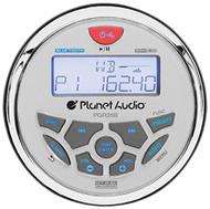 Planet Audio PGR35B Bluetooth Enabled, In Dash, Marine Gauge, Digital Media, AM/FM Receiver