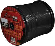 Audiopipe 18Ga Spekaer & Remote Wire 500' Ft Black