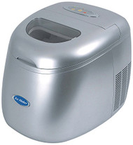 NutriChef PICEM15 Countertop Ice Maker Machine - 3 Sizes of Ice Cubes