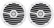 "(2) Rockford Fosgate Prime RM1652 6.5"" 300W Marine/Boat Speakers White 4-Ohm"