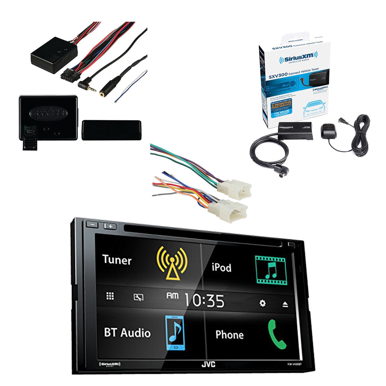 Kicker Bluetooth Amplifier Flhx Dash Adapter Kit Xm Tuner Universal Car Radio Wiring Enrockautomotive