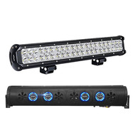 "Audio Package: Bazooka 24"" Bluetooth Party Bar Off Road Sound Bar LED Illumination System, with Nilight Light Bar LED 20"" 126W"