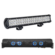 "Audio Package: Bazooka 36"" Bluetooth Party Bar with RGB LED Illumination System, with Nilight Light Bar LED 20"" 126W"