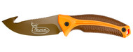 Kershaw Buck Commander Lone Rock W/Fixed Blade And Gut Hook (Large) (R-1896GHORBRNBCX)