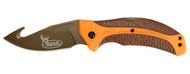 Kershaw Buck Commander Lone Rock Folding Knife W/ Gut Hook (R-1898GHORBRNBCX)