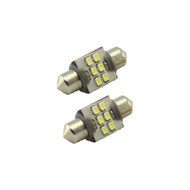Sirius 6 Smd 3020 32Mm Festoon Led With Heat Sink Pair (R-32MM6SMD3020)