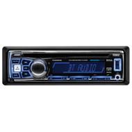 Boss Single Din MP3/CD/AM/FM Receiver Bluetooth USB Front Aux Input Detachable Panel Remote (R-762BRGB)