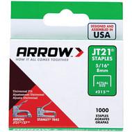 "Arrow 21524 Thin Wire Staples, 1,000 pk (5/16"") (R-AFC21524)"