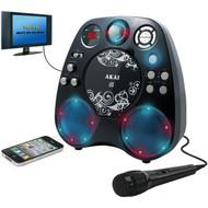 AKAI KS390 CD+G Karaoke Player with Light Effects (R-AKAIKS390)