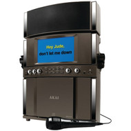 "AKAI KS800-BT CD+G Bluetooth(R) Karaoke System with 7"" TFT & Tablet Cradle (R-AKAIKS800BT)"