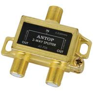 Antop Antenna Inc AT-705 2-Way 2GHz Low-Loss Coaxial Splitter (R-ANTAT705)