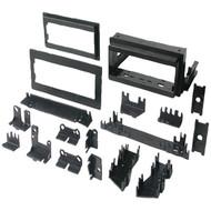 "BEST KITS BKGM4 In-Dash Installation Kit (GM(R) Universal 1982-2003 with Factory Brackets & Flat, .5"" & 1"" Trim Plates Single-DIN) (R-AOABKGM4)"