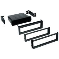 BEST KITS BKUPK800 In-Dash Installation Kit (Select Mitsubishi(R)/Subaru(R)/VW(R) 1991-2005 Radio Replacement Pocket Single-DIN) (R-AOABKUPK800)