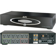 APC H10BLK 12-Outlet H-Type Rack-Mountable Power Conditioner with Coaxial Protection (R-APNH10BLK)