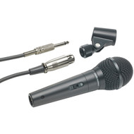 AUDIO TECHNICA ATR-1300 Dynamic Vocal/Instrument Microphone (Unidirectional) (R-ATHATR1300)