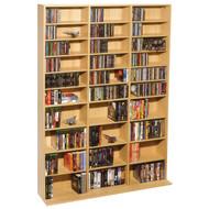 ATLANTIC 38435715 Oskar 1,080-CD Multimedia Storage Cabinet (R-ATL38435715)