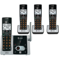 AT&T ATTCL82413 Cordless Answering System with Caller ID/Call Waiting (4-handset system) (R-ATTCL82413)