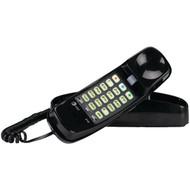 ATT ATTML210B Corded Trimline(R) Phone with Lighted Keypad (Black) (R-ATTML210B)