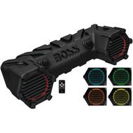 "Boss ATV Amplified Sound System.  6.5"" Speakers Bluetooth RGB LED Lighting (R-ATV30BRGB)"
