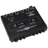 AUTOTEK 7007 Half-DIN 4-Band 2-Way Equalizer/Crossover (R-AUT7007)
