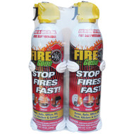 FIRE GONE 2-FG-7209 Fire Suppressants with Bracket, 2 pk (R-AVW2FG7209)