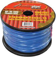 Audiopipe 16 Gauge 500Ft Primary Wire Blue (R-AP16500BL)