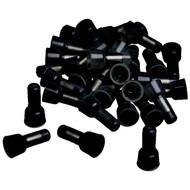 Crimp Caps 14-16Ga. 100 Pack Xscorpion Black (R-BCC1614)