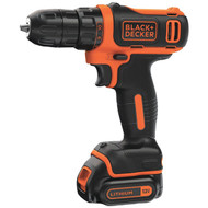 BLACK & DECKER BDCDD12C 12-Volt MAX* Cordless Lithium Drill/Driver (R-BDKBDCDD12C)