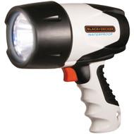 BLACK & DECKER FL3WBD 350-Lumen 3-Watt Waterproof Rechargeable LED Spotlight (R-BGLFL3WBD)
