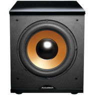 """BIC AMERICA H-100II 12"""" Front-Firing Powered Subwoofer with Black Lacquer Top (R-BICH100II)"""