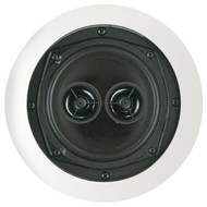 "BIC AMERICA MSR5D 5.25"" Muro Dual Voice-Coil Stereo Ceiling Speaker (R-BICMSR5D)"