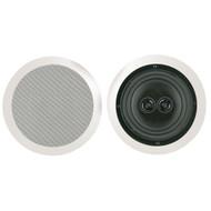 "BIC AMERICA MSR8D 8"" Muro Dual Voice-Coil Stereo Ceiling Speaker (R-BICMSR8D)"