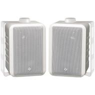 "BIC AMERICA RTRV44-2W 4"" RtR Series Indoor/Outdoor 3-Way Speakers (White) (R-BICRTRV442W)"