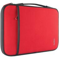 "BELKIN B2B081-C02 11"" Netbook/Chromebook(TM) Sleeve (Red) (R-BKNB2B081C02)"
