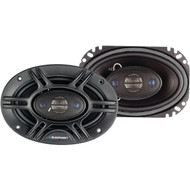 "Blaupunkt GTX406 4-Way Coaxial Speakers (GTX406 4"" x 6"" 240 Watts) (R-BLAGTX406)"