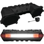 BOSS AUDIO ATVB69LED Plug & Play Bluetooth(R) Sound System with Built-in Amp & LED Light Bar (R-BOSATVB69LED)