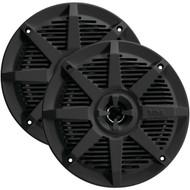 "BOSS AUDIO MR52B 2-Way Full-Range Marine Speakers (5.25"", Black) (R-BOSMR52B)"