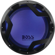 "BOSS AUDIO PD12LED Phantom Series 12"" 1,600-Watt DVC Subwoofer (R-BOSPD12LED)"