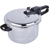 BRENTWOOD BPC-105 Aluminum Pressure Cooker (5.5-Liter) (R-BTWBPC105)