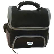 Brentwood Kool Zone CB-12BK Cooler Bag with Extra Storage (Black) (R-BTWCB12BK)
