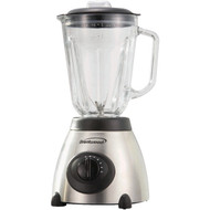 BRENTWOOD JB-800 5-Speed Blender with Stainless Steel Base & Glass Jar (Stainless Steel) (R-BTWJB800)