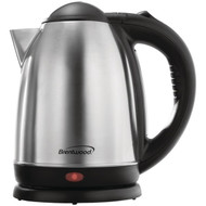 BRENTWOOD KT-1790 1.7-Liter Stainless Steel Electric Cordless Tea Kettle (R-BTWKT1790)